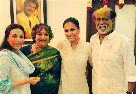 Rajinikanth turns 44 this Holi, 2019!