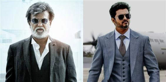 Rajinikanth, Vijay lead at the top with most numbe...