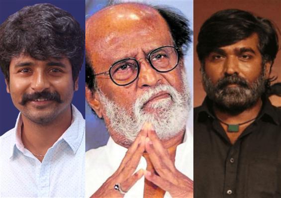 Rajinikanth, Vijay Sethupathi, Sivakarthikeyen mak...