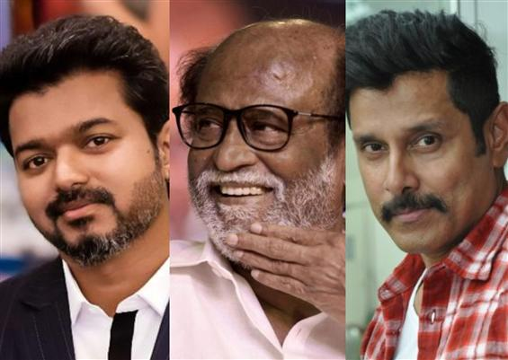 Rajinikanth, Vijay, Vikram most trusted South Indi...