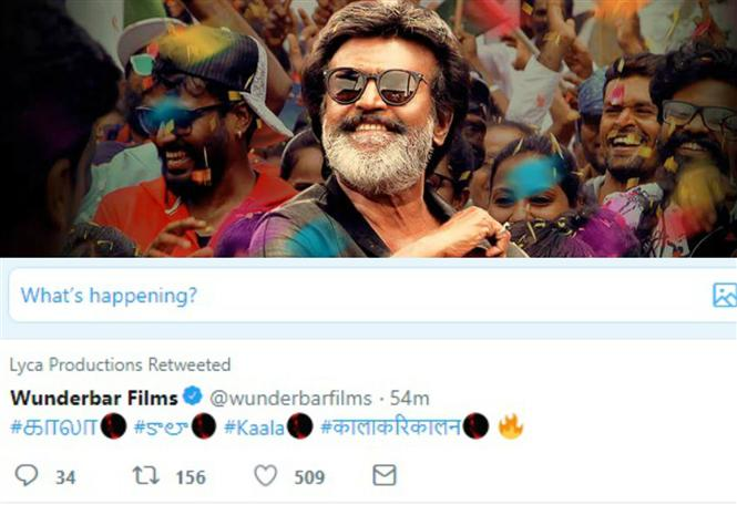 Rajinikanth's Kaala joins the list of Indian films to have a customised twitter emoji