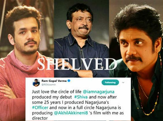 News Image - Ram Gopal Varma's movie with Akhil Akkineni gets shelved amidst controversy! image