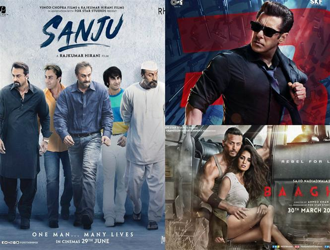 Ranbir Kapoor's Sanju crosses the lifetime collection of Race 3 & Baaghi 2 in 5 days