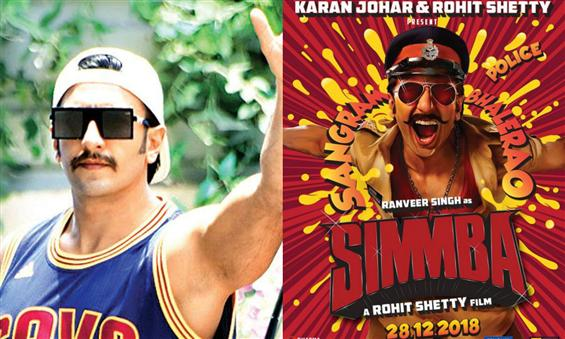 Ranveer Singh sports a moustache, gets ready for Rohit Shetty's Simmba shoot