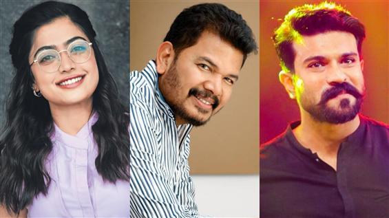 Rashmika latest addition to Shankar, Ram Charan fi...