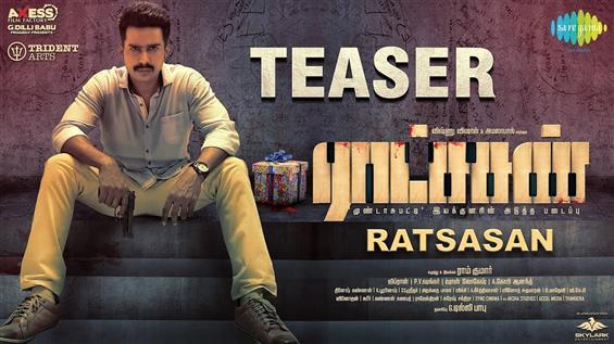 Ratsasan Teaser feat. Vishnu Vishal, Amala Paul & a mystery villain!