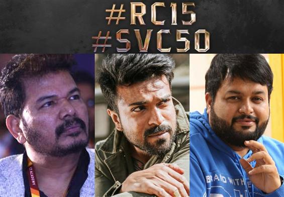 RC 15: Thaman for Shankar, Ram Charan's film!