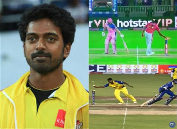 Remember when Vikranth of Chennai Rhinos Mankaded ...