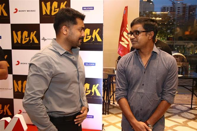 Request Selvaraghavan to narrate his next script: Suriya at NGK Audio Launch