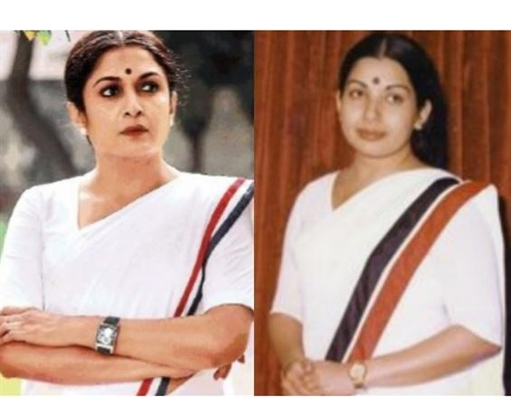 Revealed: Ramya Krishnan as Jayalalitaa From GVM's...