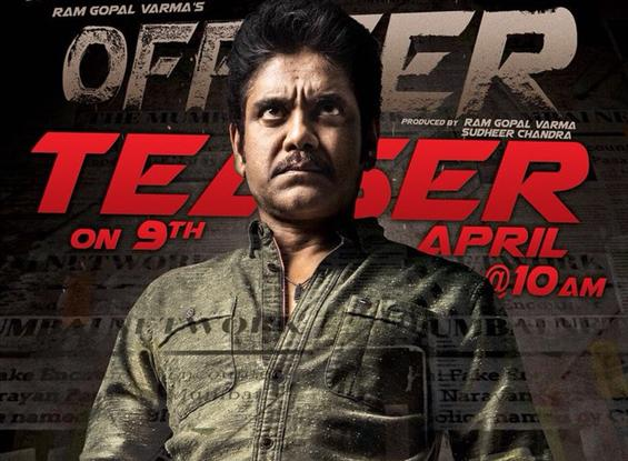 RGV's Officer teaser starring Nagarjuna is loaded with action