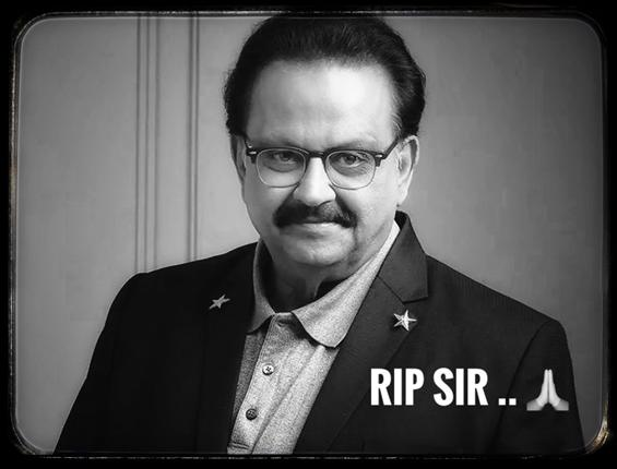 RIP SPB: Tamil, Telugu Film celebs mourn the loss ...