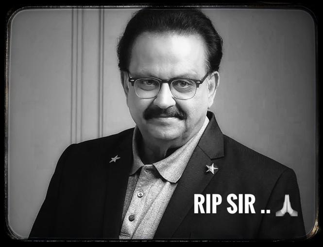 RIP SPB: Tamil, Telugu Film celebs mourn the loss of SP Balasubrahmanyam!