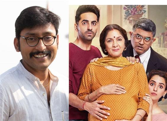 RJ Balaji in Badhaai Ho Tamil Remake!