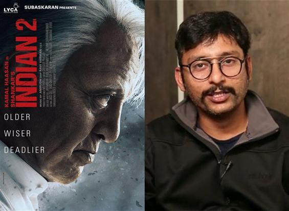 RJ Balaji in Kamal Haasan's Indian 2! To play this...