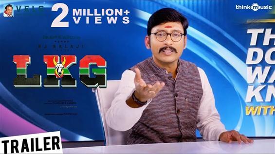 RJ Balaji's LKG Trailer