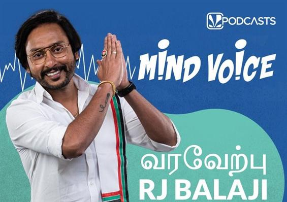 RJ Balaji's Podcast Mind Voice Now Streaming on Ji...