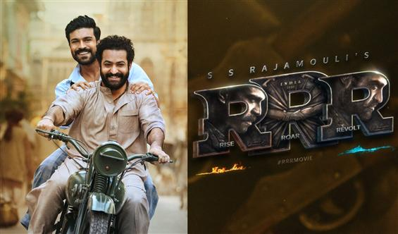 RRR wraps shooting with the same bike shot the film started!