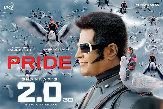 Rs. 100 Cr+ worth ticket sales for 2.0 on Bookmyshow!