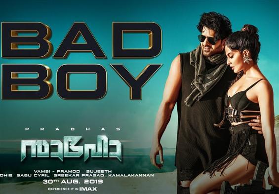 Saaho: Bad Boy Song ft. Prabhas, Jacqueline Fernan...
