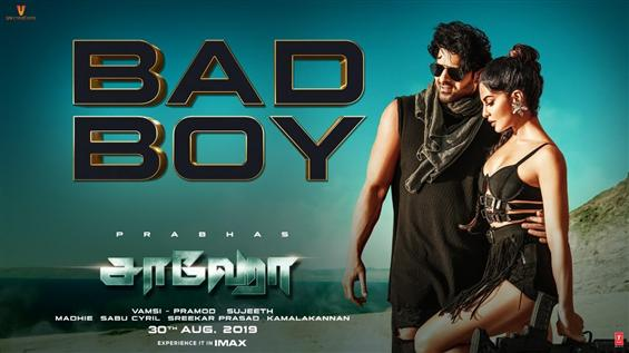 Saaho: Bad Boy Video Song Out Now!