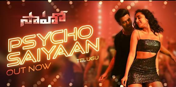 Saaho: Psycho Saiyaan Song Video ft. Prabhas, Shraddha Kapoor