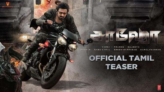 Saaho Tamil Teaser: Prabhas is back in a Hollywood...