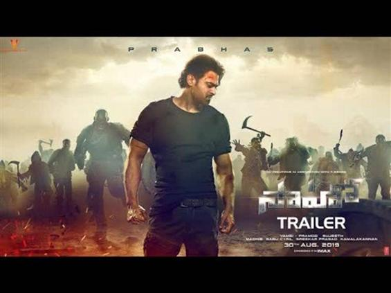 Saaho trailer -  Loaded with unlimited thrills