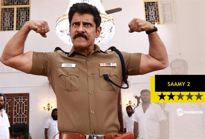 Saamy 2 Review - A sequel that could hurt fans of the first instalment!