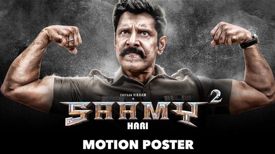 Saamy Square Motion Poster feat. Chiyaan Vikram