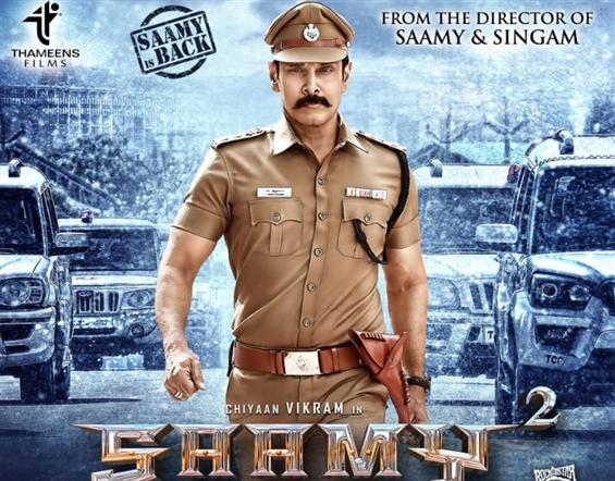 Saamy Square Promo: 'Aarusaamy' Vikram is back with his punch dialogues!