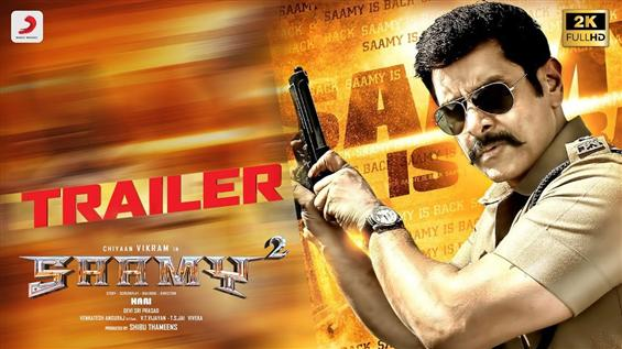 Saamy Square: Trailer 2 released for Vikram, Keerthy Suresh starrer!