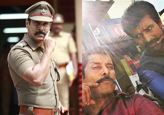 Saamy Square: Vikram shares a fun video from the m...