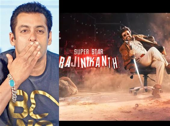 Salman Khan calls Rajinikanth 'The Only Superstar'...