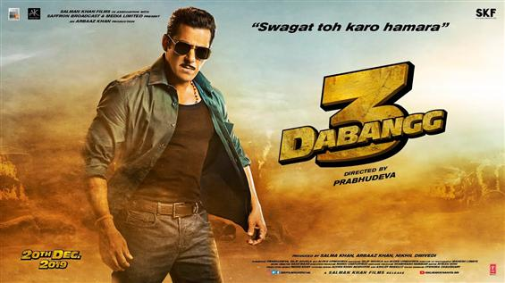 Salman Khan unveils Dabangg 3 Motion Poster in Hindi, Tamil, Telugu and Kannada