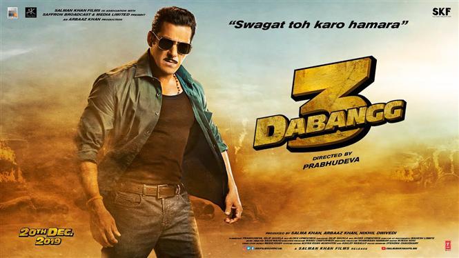 Salman Khan unveils Dabangg 3 Motion Poster in Hindi, Tamil, Telugu and Kannada