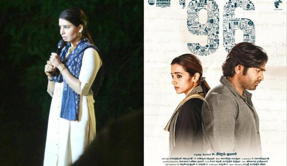 Samantha starts shooting for 96 Telugu remake