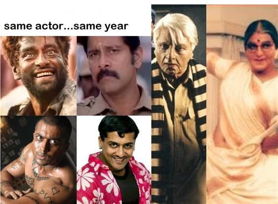 Same Actor Same Year - Tamil Film Actors Version!