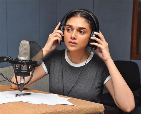 Sammohanam: Aditi Rao Hydari dubs her voice in Telugu for the first time