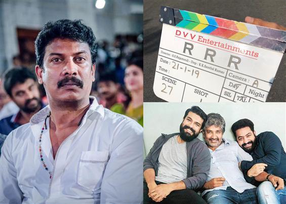 Samuthirakani in S.S. Rajamouli's film! RRR shatte...