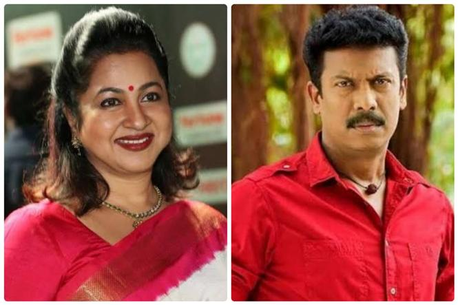 Samuthirakani is back to pavilion with Radhika in Sun TV