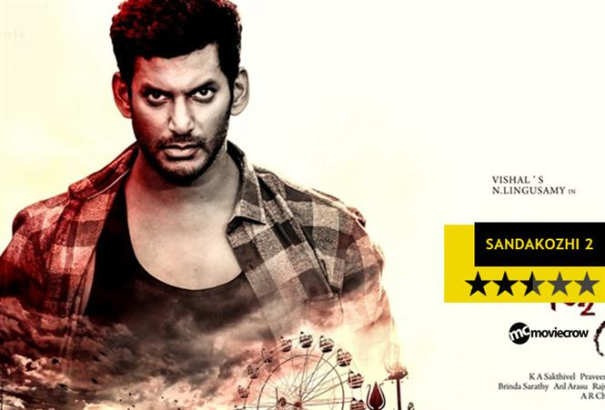 SandaKozhi 2 Review - Passable but nothing striking enough!