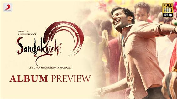 Sandakozhi 2 Tracklist, Album Preview