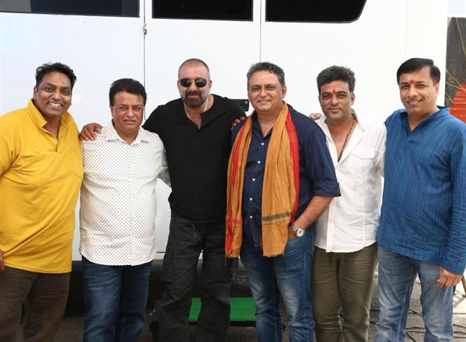 Sanjay Dutt starts shooting for Bhuj: The Pride of India in Hyderabad