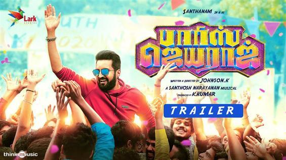 Santhanam's Parris Jayaraj Trailer