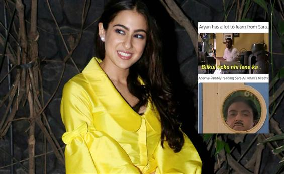 Sara Ali Khan's Twitter Account is Talk of the Tow...