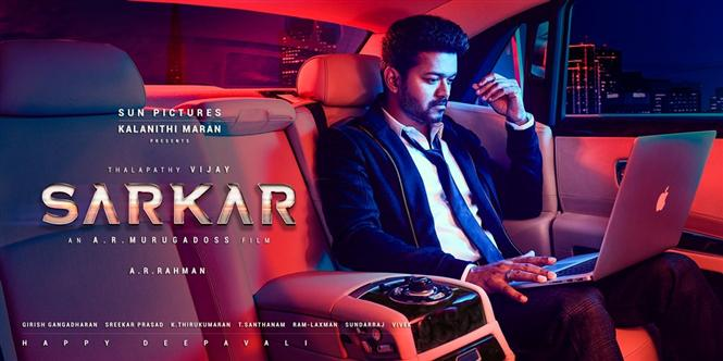 Image result for sarkar tamil poster