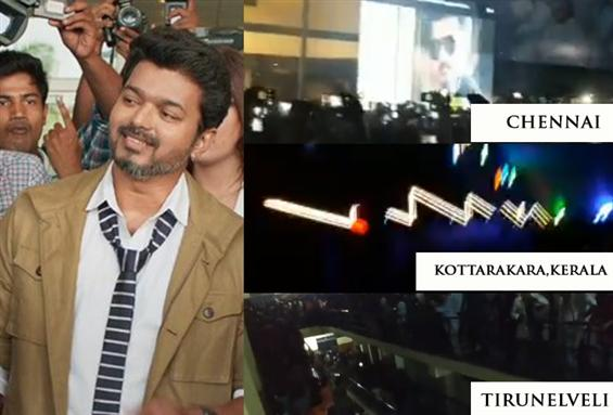 Sarkar Teaser Frenzy in Theatres besides the inter...