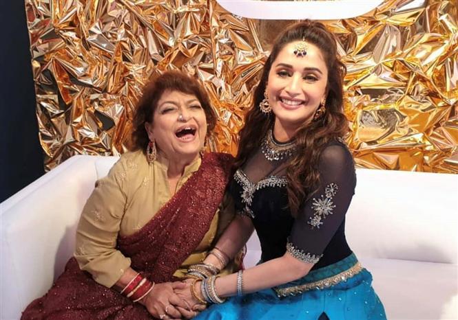Saroj Khan helped me reach my full potential in dance - Madhuri Dixit!