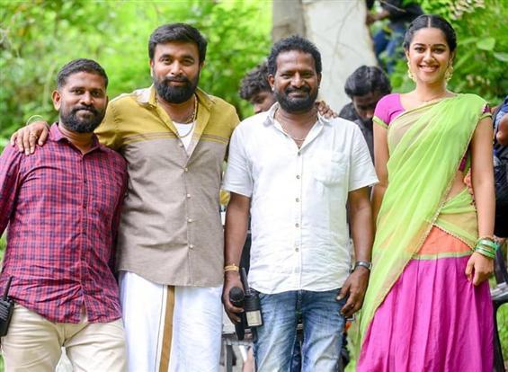 Sasikumar - Ponram's MGR Magan shooting nears completion